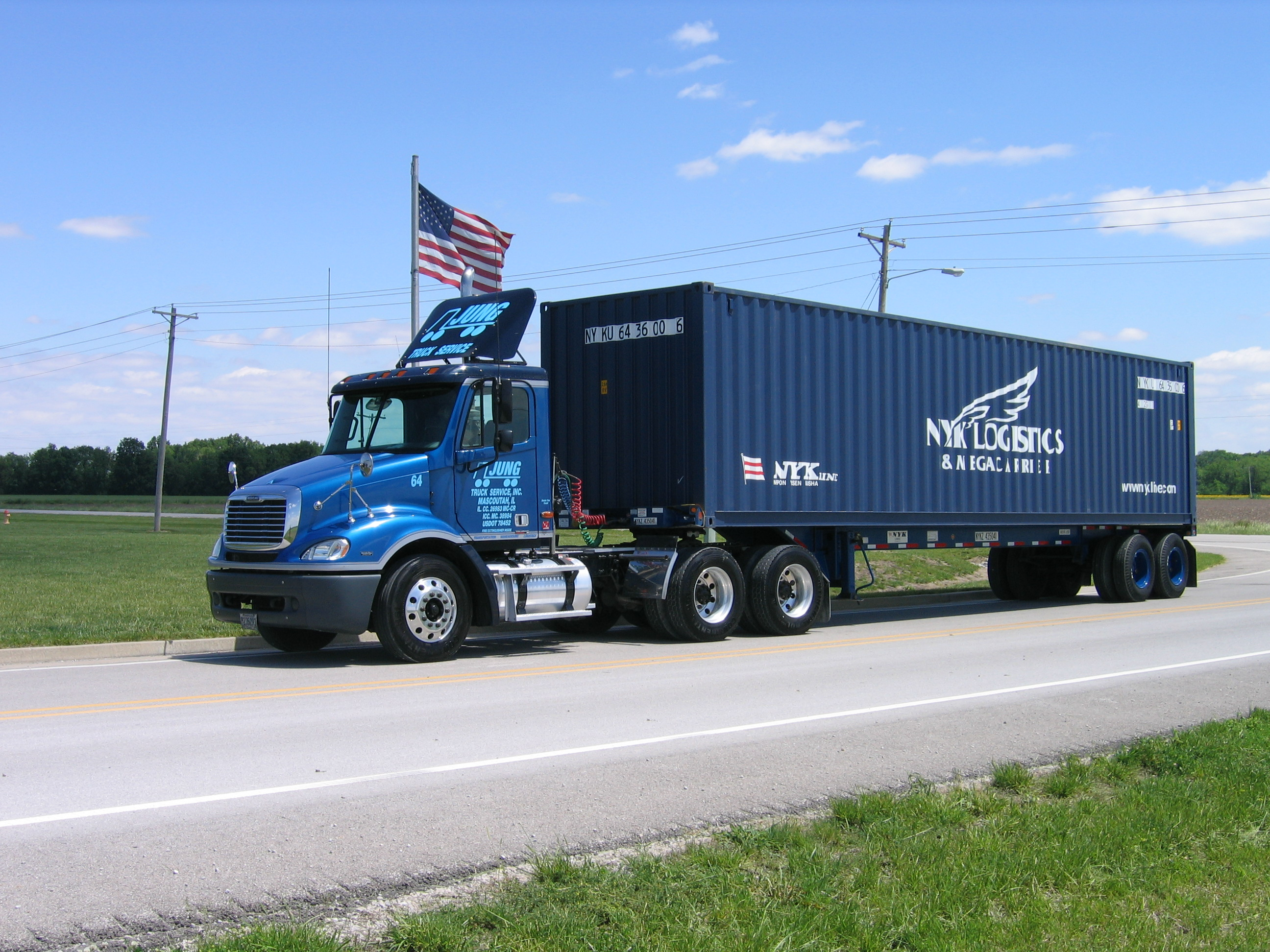 Intermodal Jung Trucking Warehousing Amp Logistics St