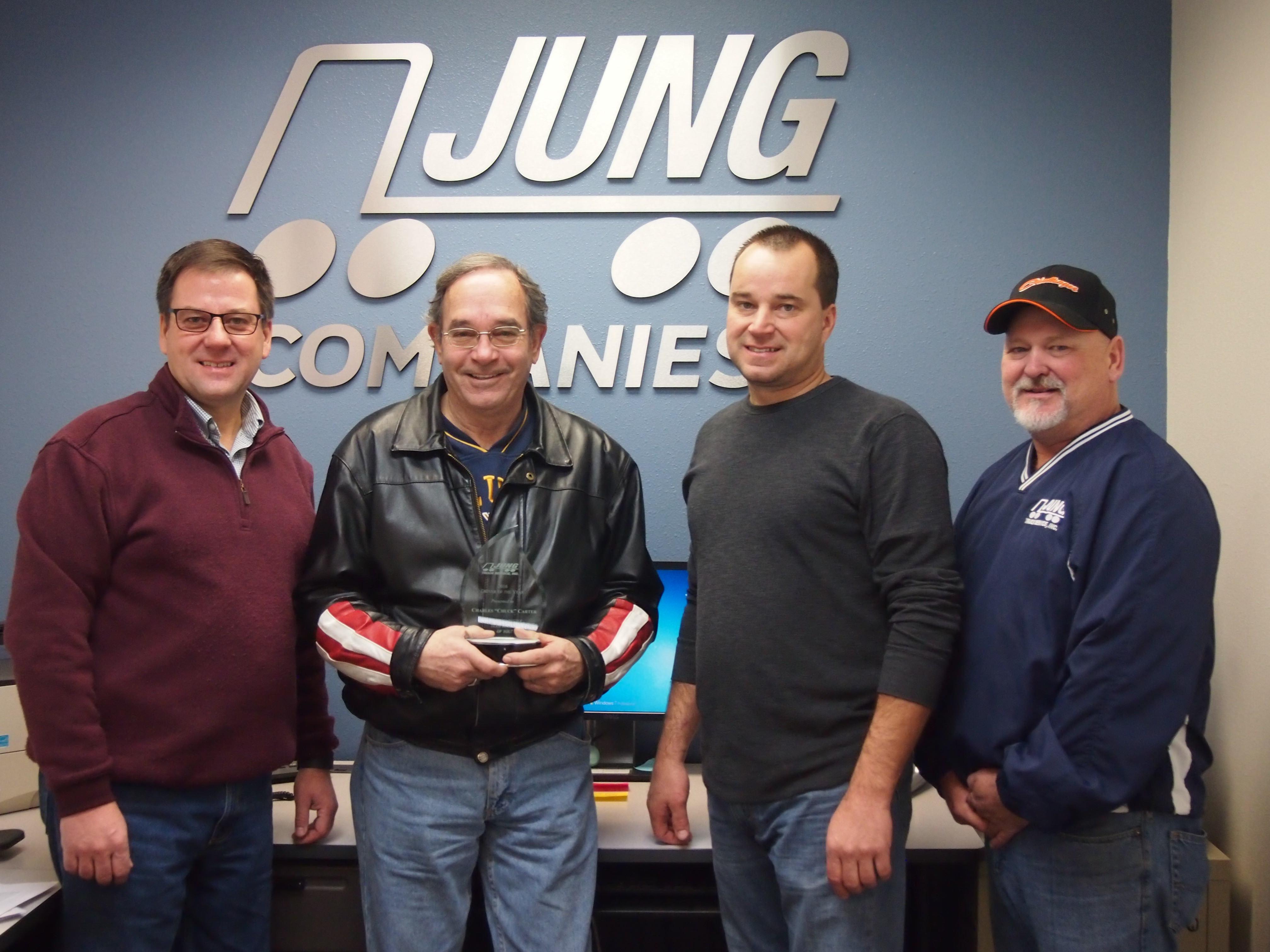 Bruce Jung, Chuck Carter, Jon Jung, & Tim Henderson