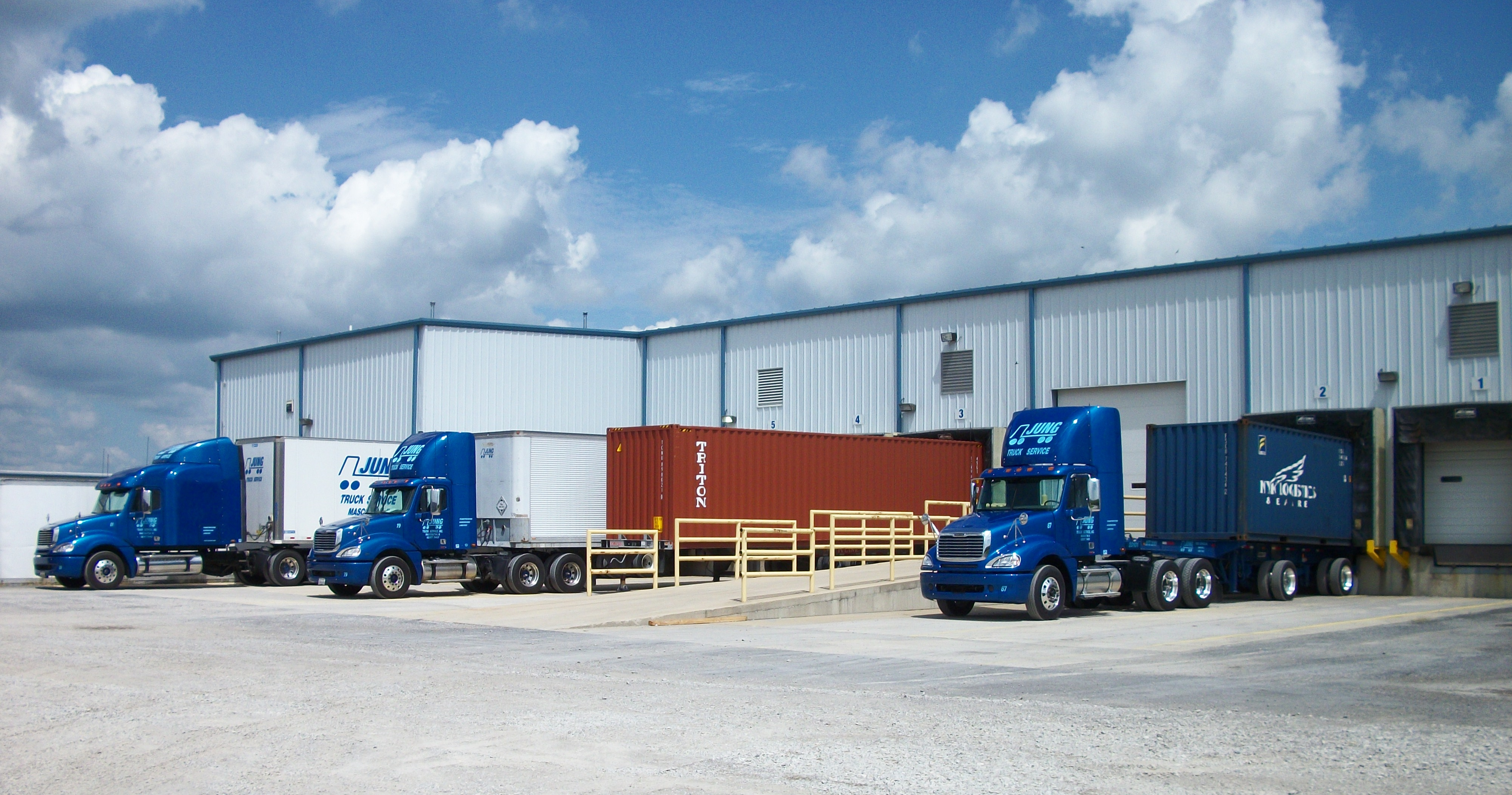 Warehousing Jung Trucking Logistics And Warehousing Services